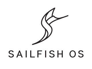 Logo de Sailfish OS