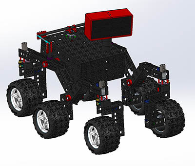 Le rover dit « open source » NASA/JPL-Caltech en phase de conception
